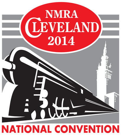 2014 NMRA Convention - Cleveland logo