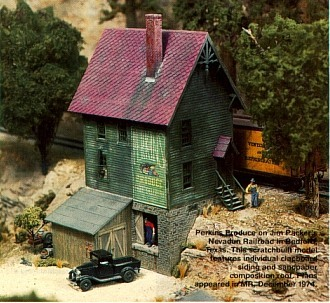 Master Builder Structures National Model Railroad